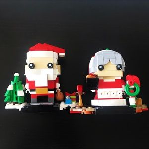 🎅🏻LEGO Santa Claus and granny 11079 (finished)